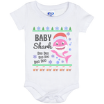 Ugly Christmas Onesie 6 Month - Baby Shark - 01 Pink