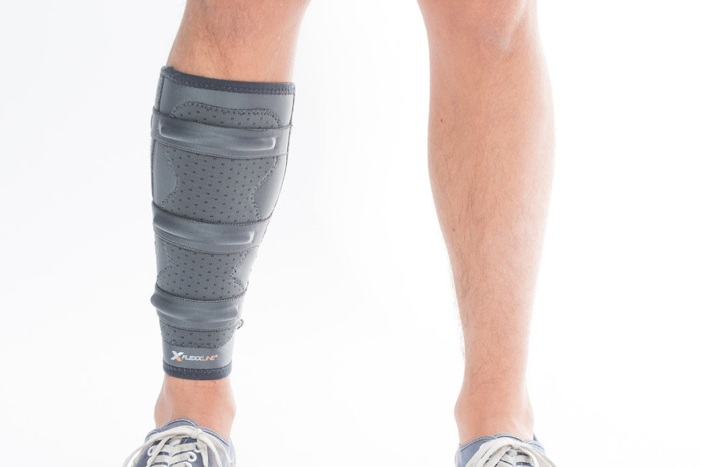 7ea351728acd8a Shin Splint Support with Calf Compression Sleeve | Flexxline