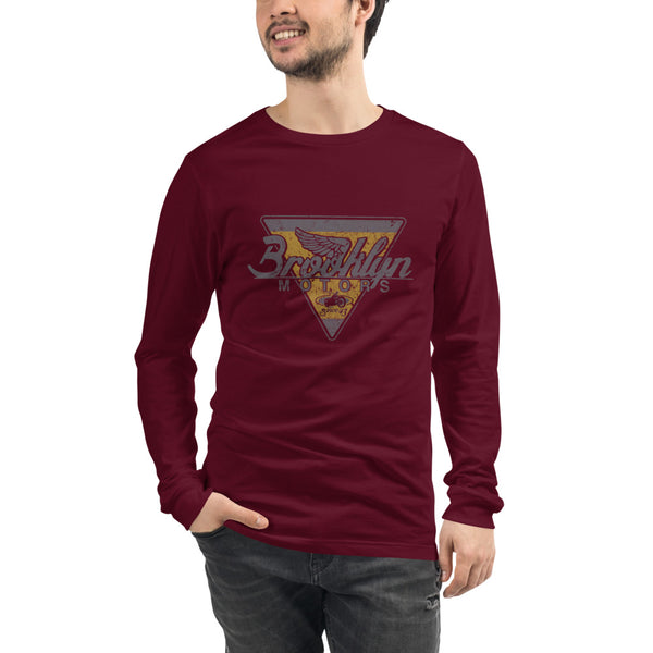 Brooklyn Motors Emblem Long Sleeve Tee
