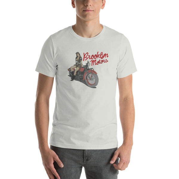 Brooklyn Motors Pin Up Rider T-Shirt