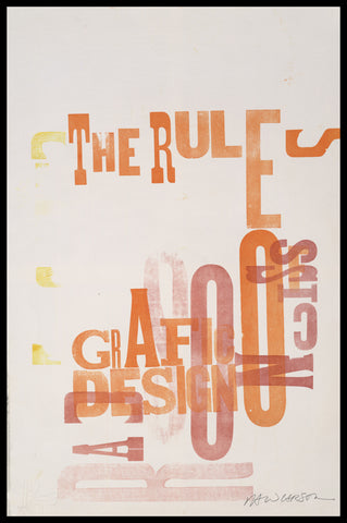 "Print 28/41. ""Rules of Grafic Design"" series"