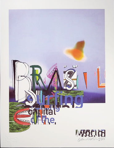 "Brazil ""Surfing"" (small/signed)"