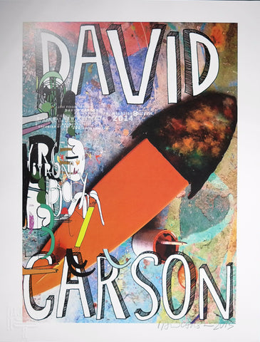 David Carson poster art surfing