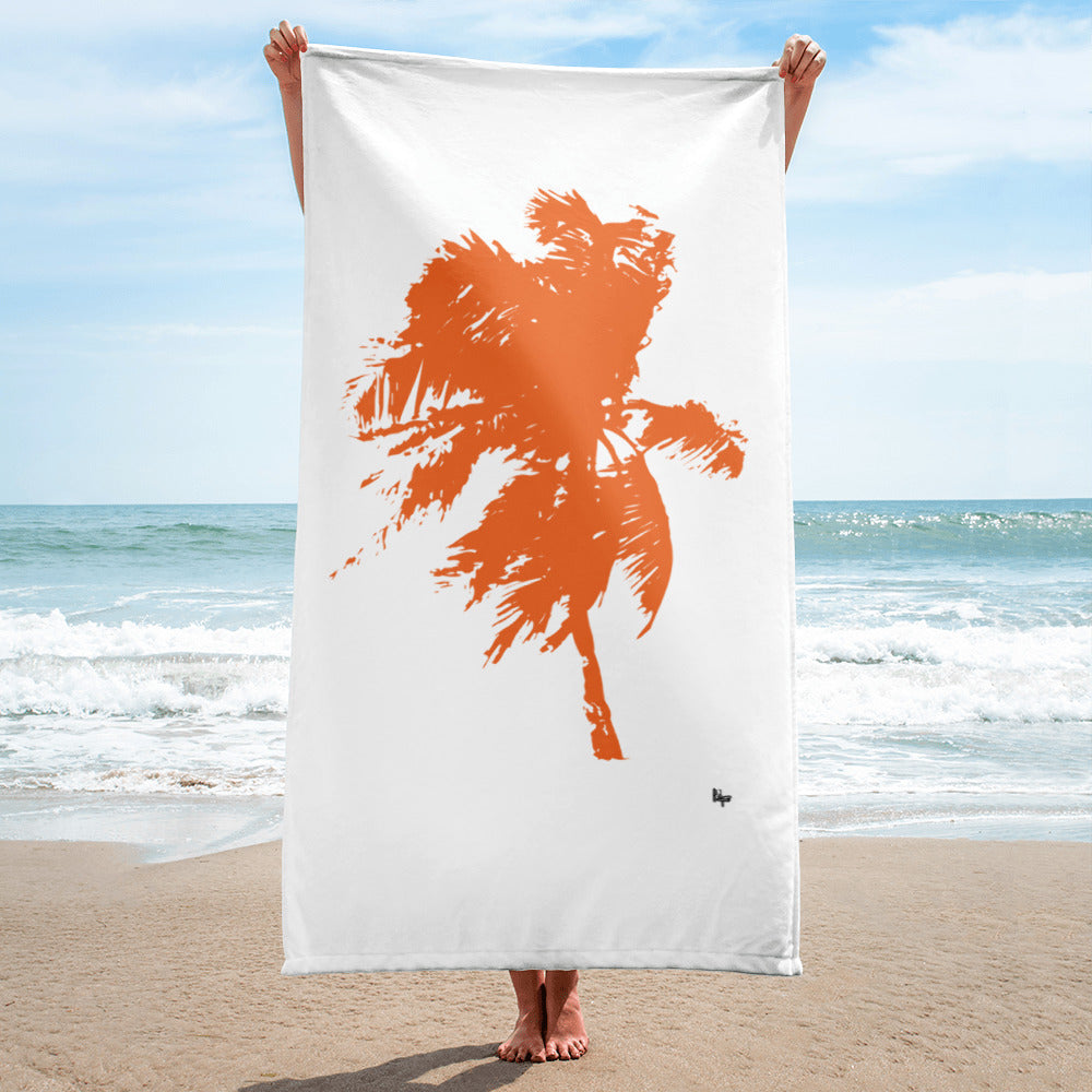 Palm tree - towel