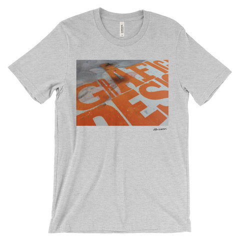 Grafic Design letterpress t-shirt