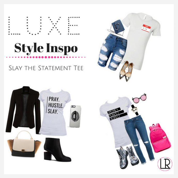 Luxe Style Inspo - Slay the Statement Tee Like These Celebs