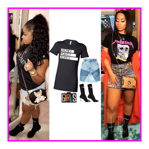 Luxe Reserve t-shirt style, inspired by Toya Wright & Tammy Rivera-Malphurs