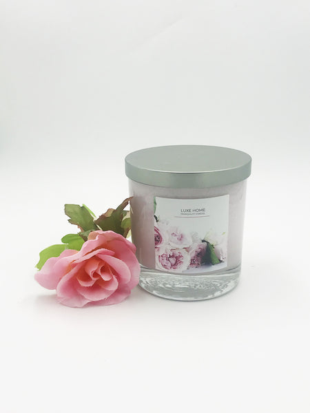 Luxe Tranquility Candle: Sweet Pea - Luxe Reserve
