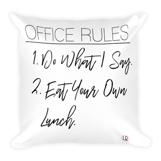 Office Rules - Luxe Reserve