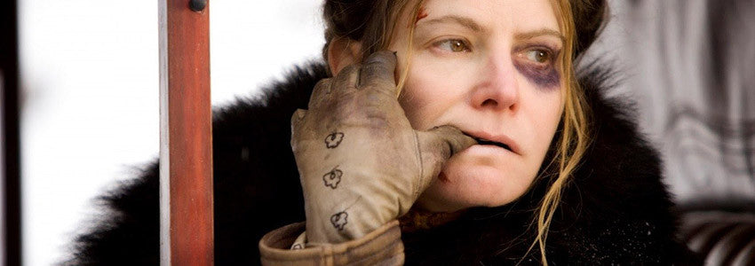 The Hateful Eight – Jennifer Jason Leigh as Daisy Domergue