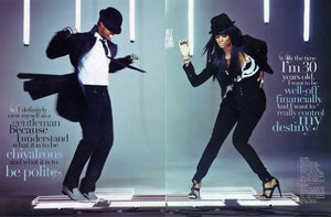 Ne-Yo Wears Gaspar Gloves in September Ebony Magazine