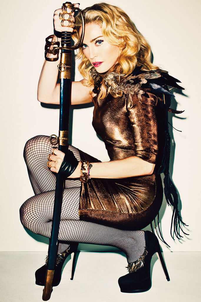 Madonna by Terry Richardson for Harper's Bazaar – November 2013