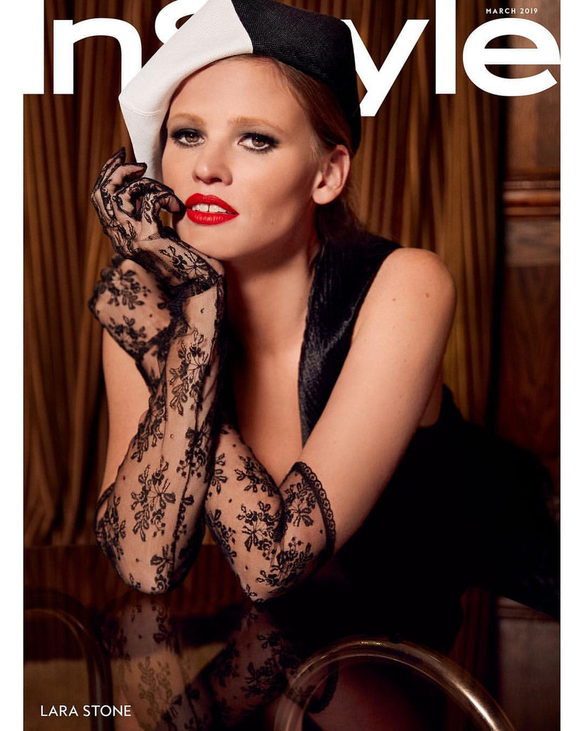 Lara Stone - InStyle Magazine March 2019