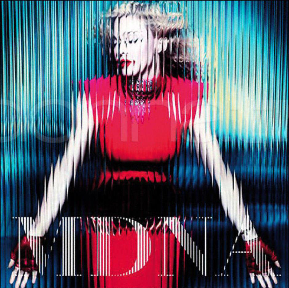 "Gaspar Gloves on the Cover of Madonna's Latest Album ""MDNA"""