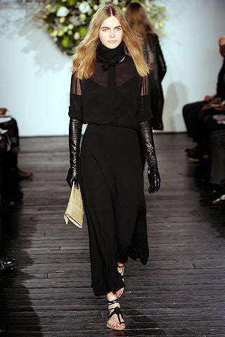 2010 Fall Winter Collection New York Fashion Week – The Row/Gaspar Gloves