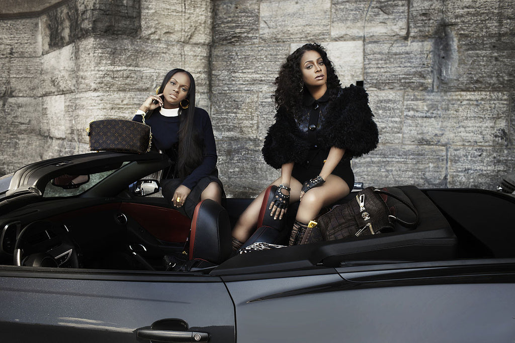 VIBE Magazine – La La Anthony and Tika Sumpter