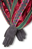 1734 Queen's Court - Gray Dress Gloves - Gaspar Gloves
