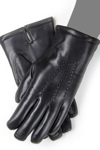 3004BLKCH Men's Cold Weather Gloves with Italian Cashmere Lining - Gaspar Gloves