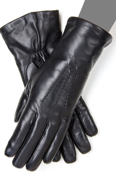 92605PPL  Genuine Italian Leather Winter Gloves with Pille Polar Lining - Gaspar Gloves