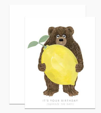 Squeeze the Day Birthday Card