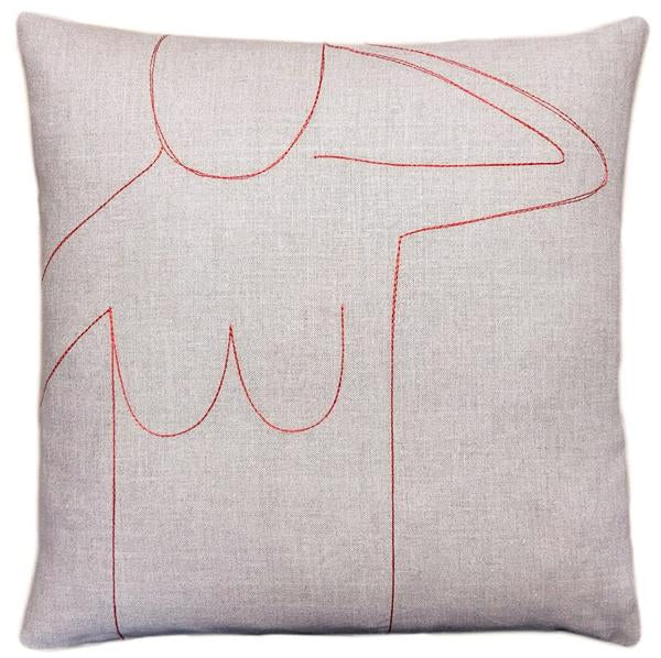 Female Nude Pillow