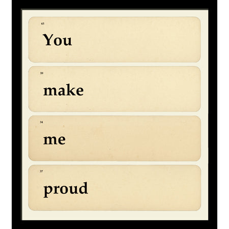 You Make Me Proud