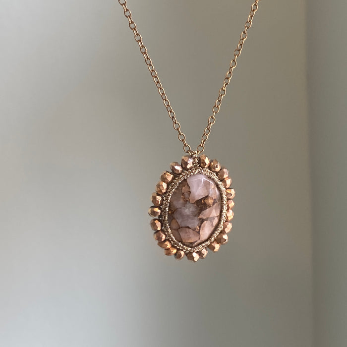 Copper in Quartz