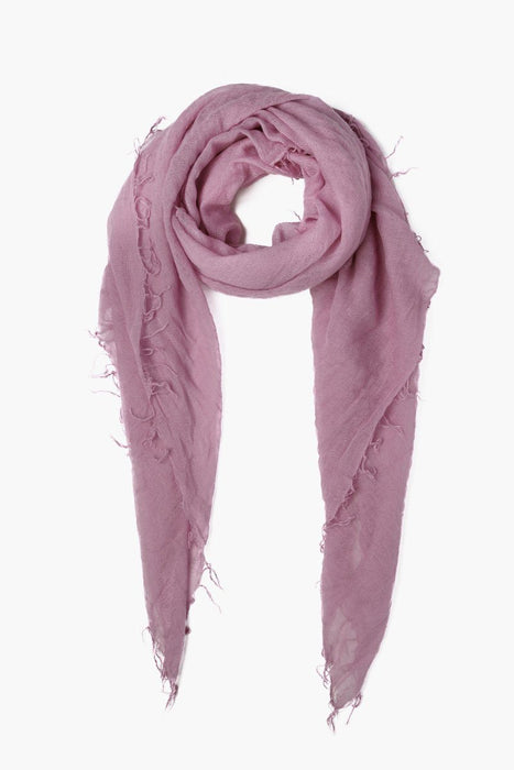 Lilas cashmere scarf