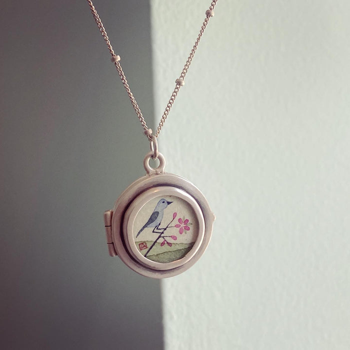 Bluebird Locket