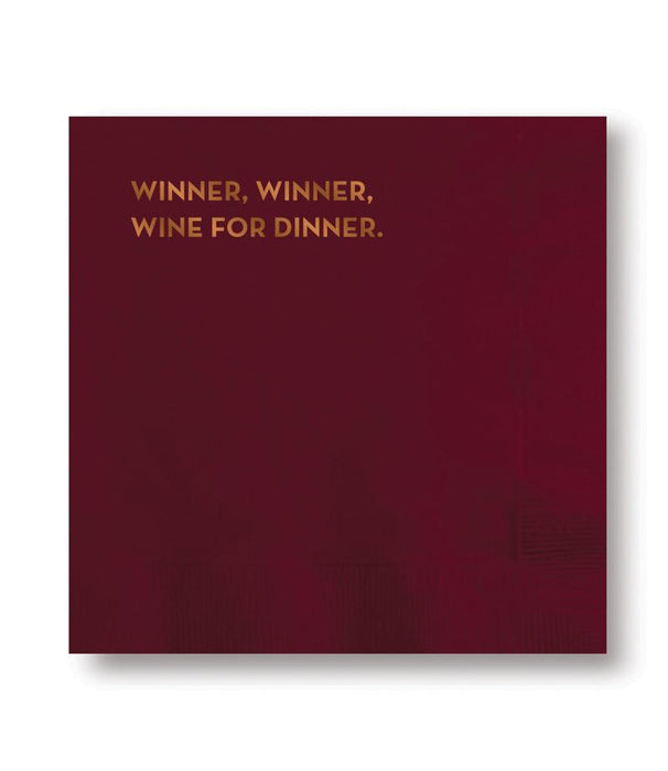 Winner Winner Cocktail Napkins