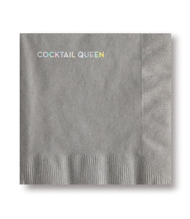 Cocktail Queen Cocktail Napkins