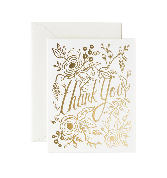 Marion Thank You card, Box of 8