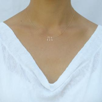 Micro Fringe Necklace
