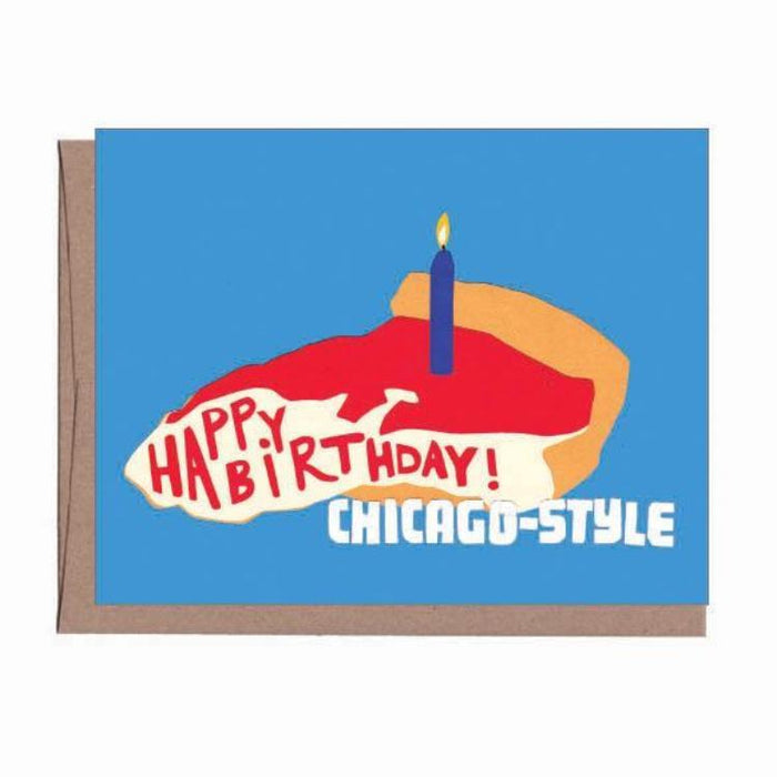 Chicago Style Birthday Card
