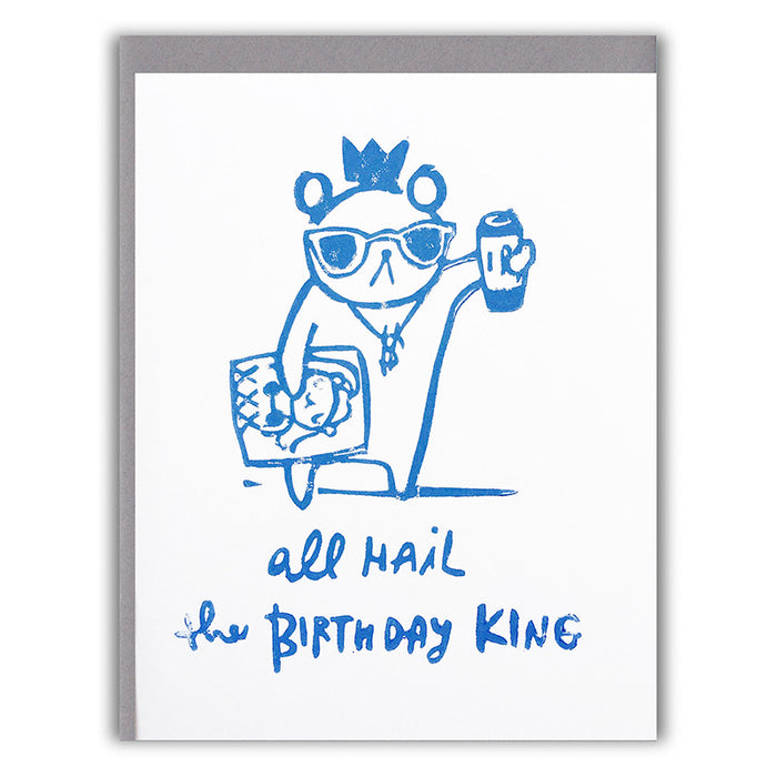 Birthday King Card