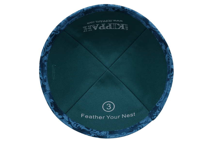 iKIPPAH Feather Your Nest Yarmulke