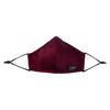 IKIPPAH BURGUNDY GLASSES MASK - LOW CUT
