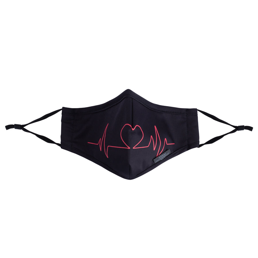 IKIPPAH HEART BEAT MASK
