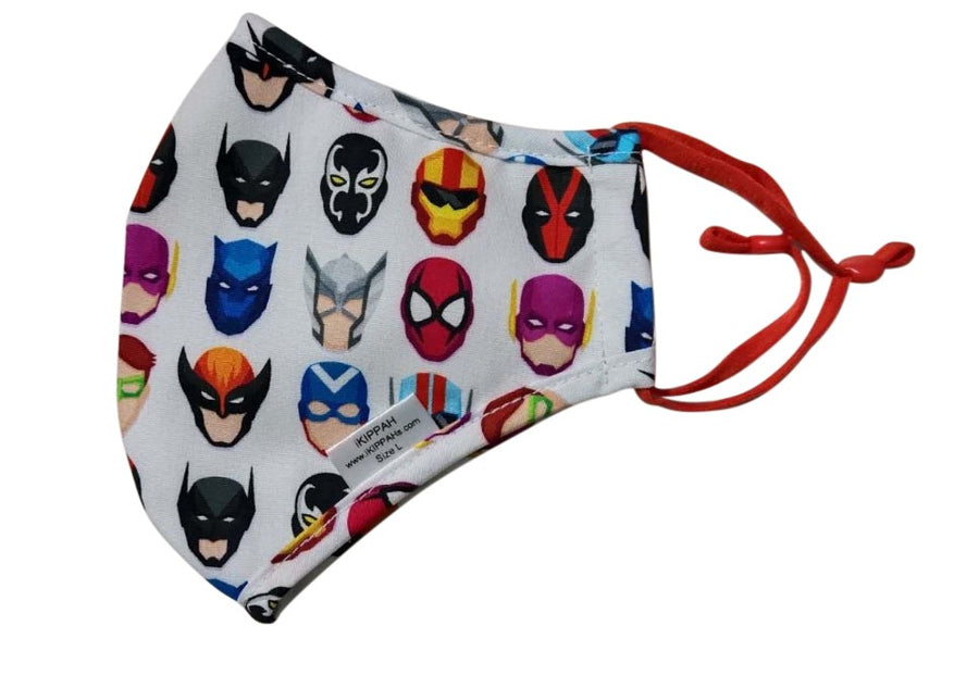 IKIPPAH SUPER HERO MASK