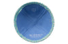 IKIPPAH SKY BLUE CROCODILE LEATHER YARMULKE