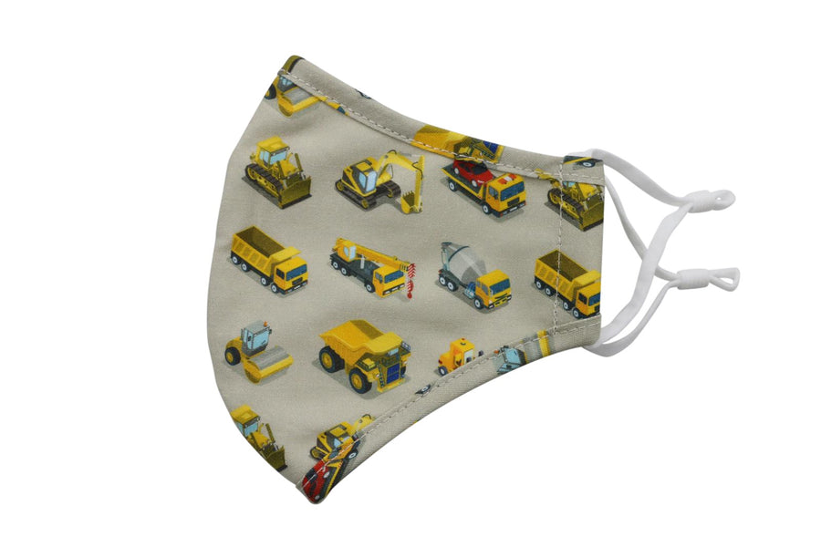 iKIPPAH CONSTRUCTION VEHICLES MASK