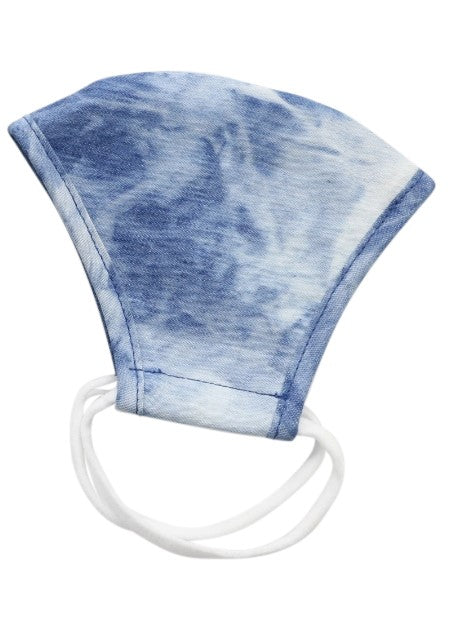 IKIPPAH DENIM TIE DYE MASK