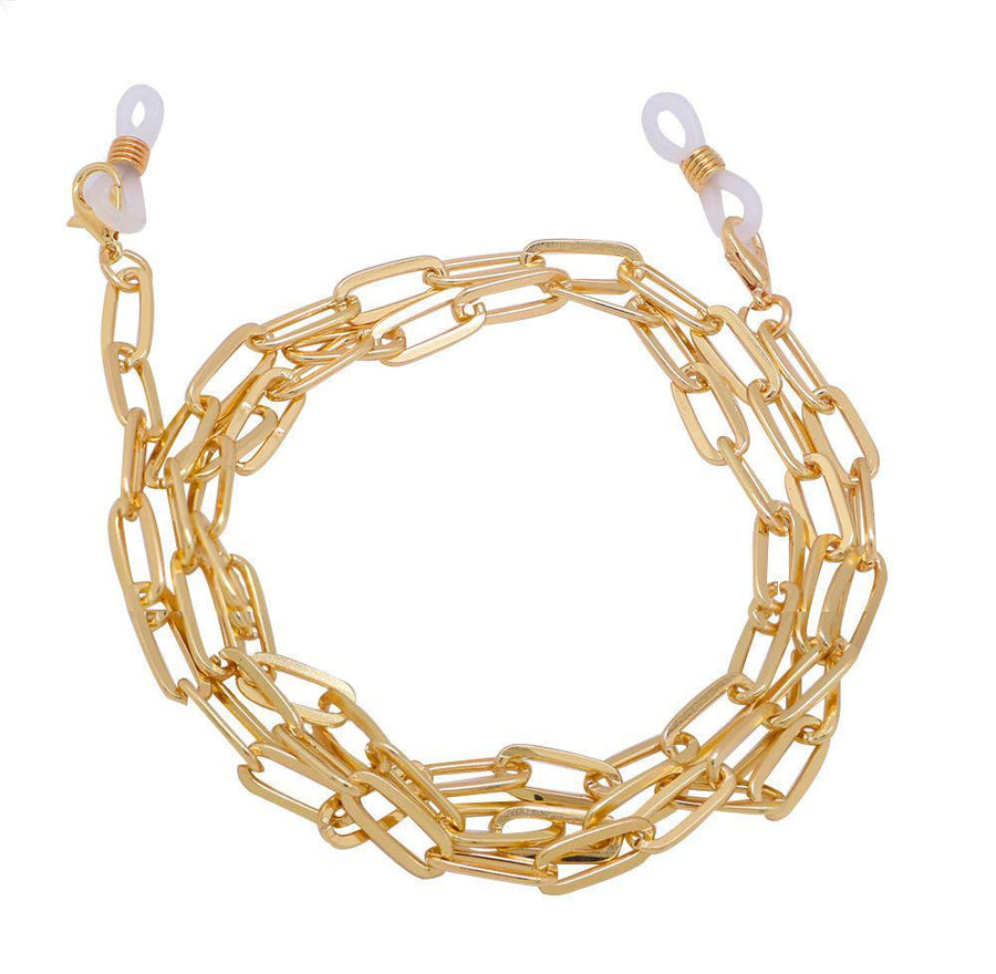 IKIPPAH GOLD PAPERCLIP MASK CHAIN