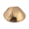 IKIPPAH SHINY GOLD LEATHER YARMULKE