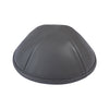 IKIPPAH DARK GRAY LEATHER YARMULKE