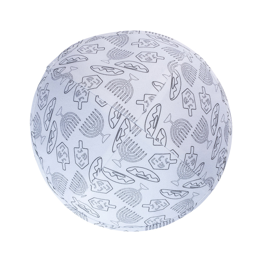 IKIPPAH COLOR ME MINE - CHANUKAH YARMULKE