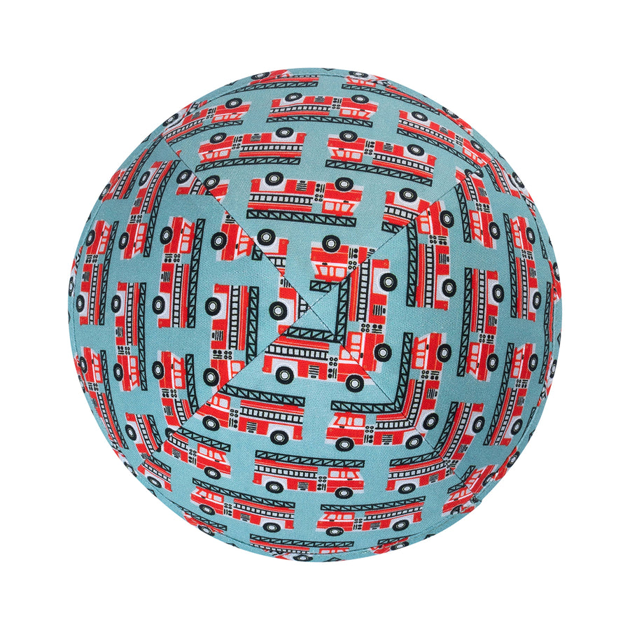 IKIPPAH RED FIRE TRUCKS YARMULKE