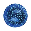 IKIPPAH ROYAL BLUE - GLOW IN THE DARK YARMULKE