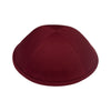 IKIPPAH BURGUNDY COTTON YARMULKE