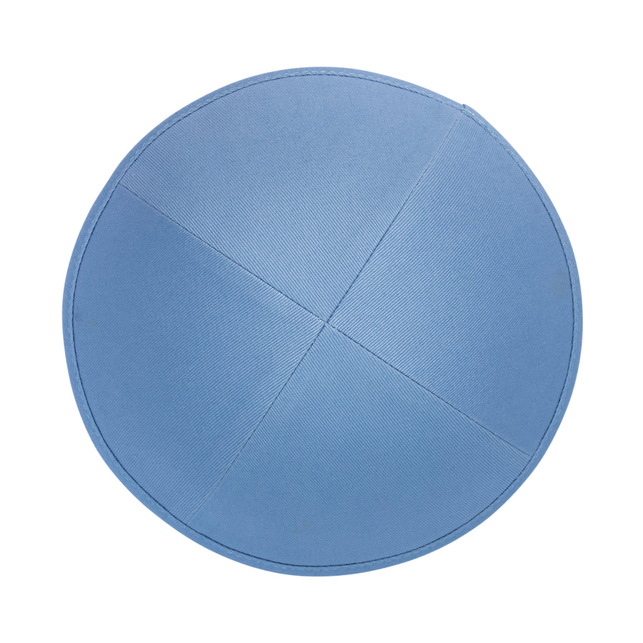 IKIPPAH SKY BLUE COTTON YARMULKE